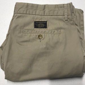 BANANA REPUBLIC Men's 33 x 30 Khaki Tan Pants